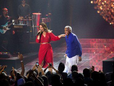 Ivete Sangalo e Gilberto Gil fazem primeiro grande show juntos… Aos detalhes