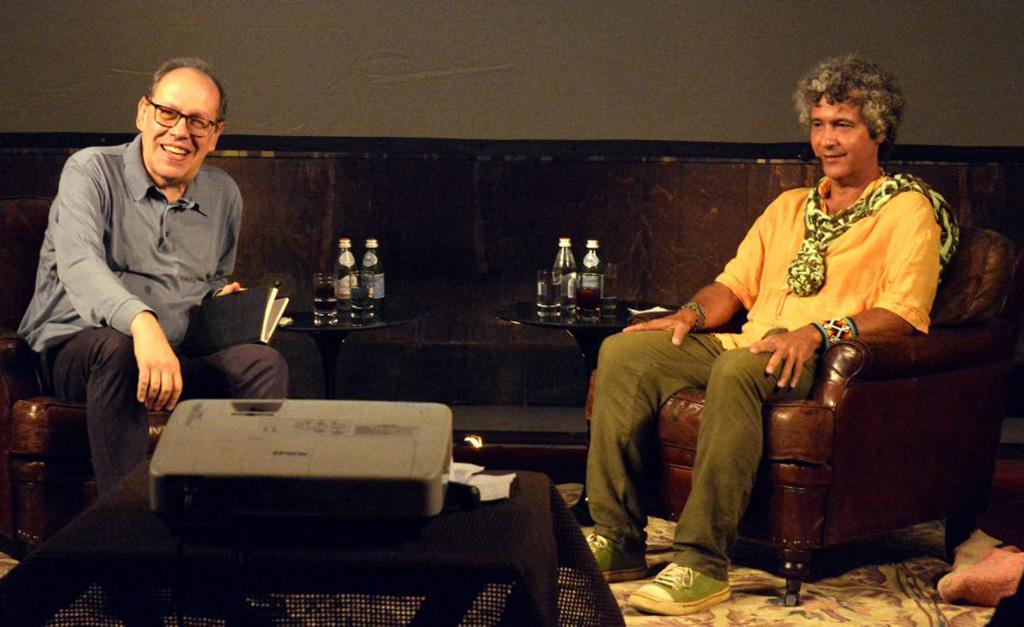 Debate de Ernesto Neto com o curador e crítico de arte Paulo Herkenhoff agitou o Parque Lage