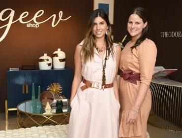 Georgia Serra Nazar e Valentina Vettori recebem para o Geev Shop Mother´s Day