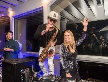 Glamurettes curtiram noite de boa música no Sofitel Ipanema com vista privilegiada