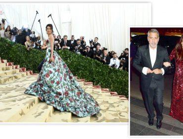 """Amal Clooney se torna persona non grata na Tom Ford por causa de """"esnobada"""" no Met Gala"""