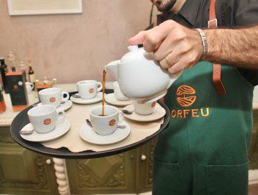 Orfeu Cafés entrou em ação no melhor momento do nosso almoço de Dia das Mães