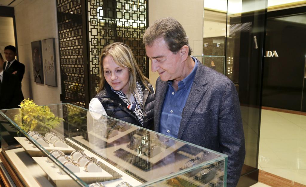 9f2d80e32e8 Rolex e Frattina armaram evento para apresentar a coleção Oyster ...