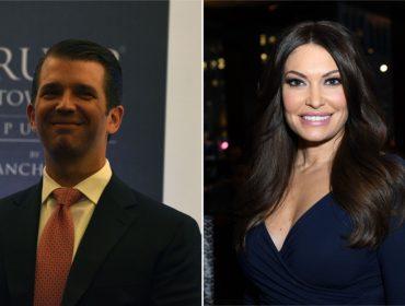 Em processo de divórcio, Donald Trump Jr. já estaria namorando comentarista de TV
