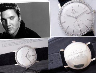 Relógio de pulso que pertenceu a Elvis Presley é leiloado por soma recorde de R$ 6,5 mi