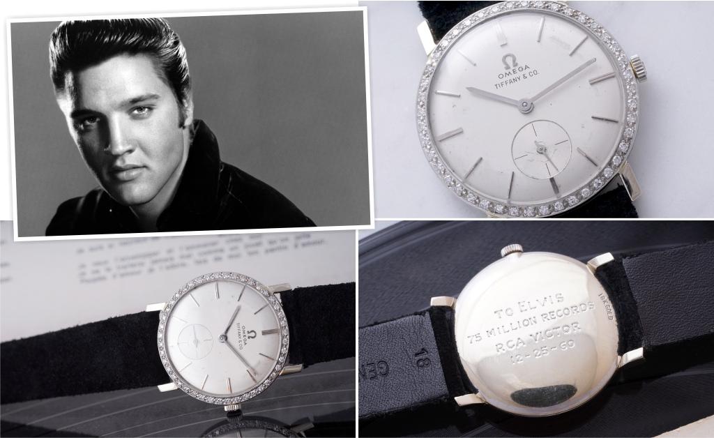 c89de18c4fe Relógio de pulso que pertenceu a Elvis Presley é leiloado por soma ...