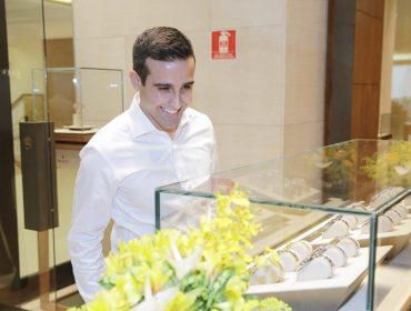 Rolex e Frattina armaram evento para apresentar a coleção Oyster