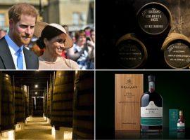 Famosa marca de vinhos do porto lança edição especial em homenagem a Meghan e Harry