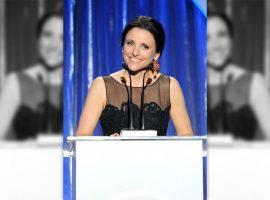 """Estrela da série """"Veep"""", Julia Louis-Dreyfus será agraciada com o """"Oscar da comédia"""""""