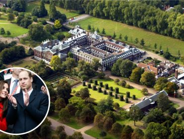 William, Kate e cia dividem moradia no Palácio de Kensington com três fantasmas… Aos fatos!