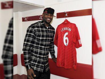 LeBron James quer que o Liverpool vença o Real Madrid na final da Liga dos Campeões. Por quê?