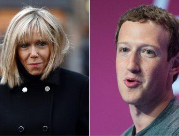 Mark Zuckerberg recebe fora da primeira-dama da França. Entenda!