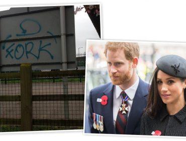 Indireta ou homenagem? Pichações em Windsor às vésperas do casamento real causam mistério
