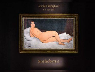 101 anos depois de ser proibido em Paris, quadro de Modigliani é leiloado por mais de R$ 500 mi