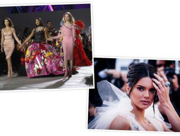"""Kendall Jenner deu """"bolo"""" na colega Naomi Campbell em evento paralelo ao Festival de Cannes"""