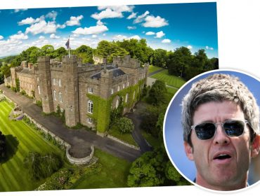 Noel Gallagher causa polêmica ao desdenhar de castelo histórico na Escócia