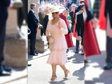 """""""Rainha"""" nos EUA, Oprah é uma das convidadas mais estreladas do casamento real"""