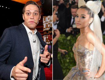 """Solteira há menos de um mês, Ariana Grande está namorando comediante do """"SNL"""""""