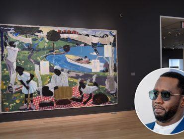 P Diddy, rapper mais rico do mundo, agora investe em arte e mostra que continua mão aberta…