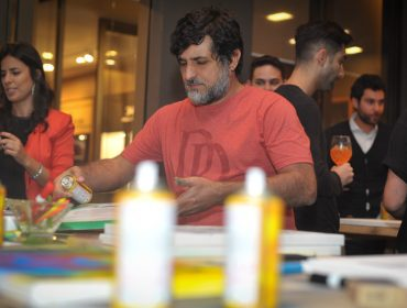 Vermelho Steam e a Luis Maluf Art Gallery em mais uma edição do Frattina Art Nights