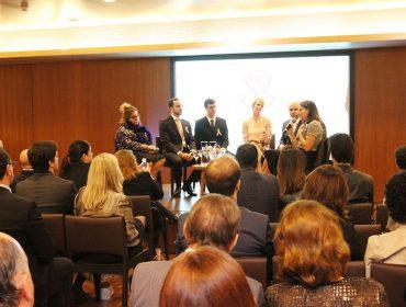 Joyce Pascowitch, Laura Wie e turma de especialistas debatem sobre o câncer em noite lançamento de campanha em Brasília