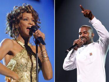 Kanye West pagou mais de R$ 300 mil por uma foto do banheiro de Whitney Houston