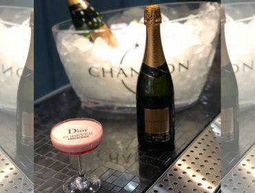 Chandon cria drink especial para burburinho da Dior Makeup…