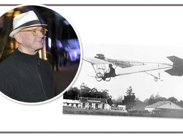 Guto Lacaz vai reconstruir Demoiselle, o mais famoso avião criado por Santos-Dumont