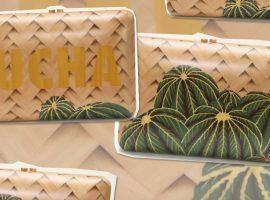 Sylvie Quartara e Ucha Meirelles juntas em coleção de clutches tropicais. Vem saber!