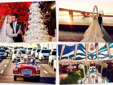 Dois casamentos agitaram o final de semana dos glamurettes. Espia só…