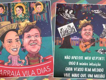 Arraiá de Adriana Vilarinho e Mateos Raduan Dias vai reunir glamurettes no Helvetia