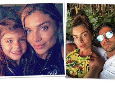 Grazi Massafera compartilha cliques raros com a filha e o namorado e explode de likes