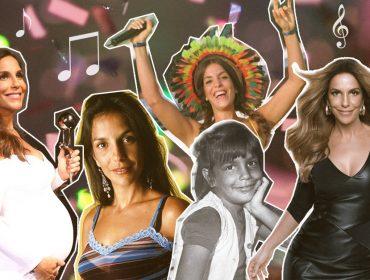 Linha do tempo com looks icônicos de Ivete Sangalo no dia em que completa 46 anos