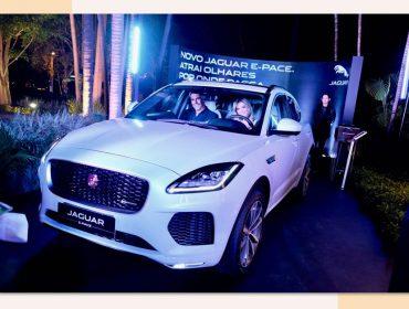 Jaguar estacionou seu E-PACE no centro da festa de 18 anos do Glamurama