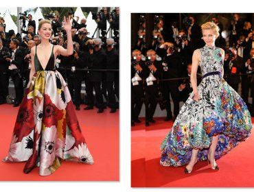 Amber Heard e Cate Blanchett colorem Cannes com estampas lúdicas e florais. À tendência!