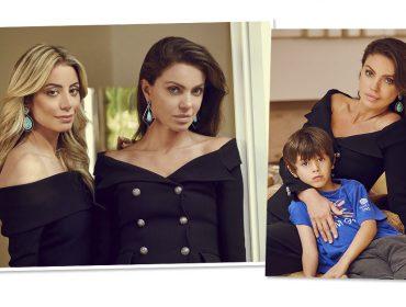 Simone Abdelnur abre sua casa para brinde de Dia das Mães e prepara parceria com a designer de joias Andrea Murad