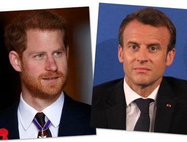 Espia só o que Emmanuel Macron vai dar presente de casamento ao príncipe Harry