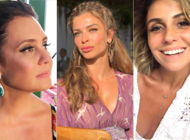 Estrelas e mães, Adriana, Grazi e Giovanna abriram o coração para Glamurama. Vem ver
