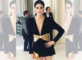 Luiza Mariani arrasa em Cannes a bordo de produção chic e sexy