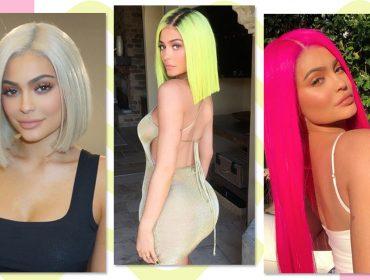 Kylie Jenner tem pelo menos 100 perucas e um guru para cuidar delas, sabia?