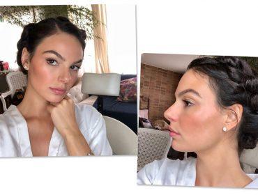 Beauty artist entrega a beleza com cara de 'eu que fiz' de Isis Valverde em seu casamento