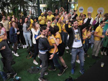 Arena Placar UOL reuniu turma das boas para acompanhar a vitória do Brasil na Copa do Mundo