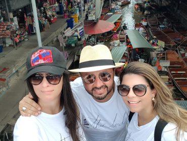 Florense leva turma do décor para viagem cheia de surpresas pela Tailândia