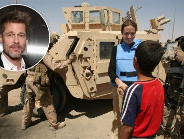 Viagem de Angelina Jolie ao Iraque deixou Brad Pitt com a pulga atrás da orelha. O motivo?