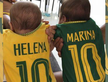Famosos agitaram as redes na torcida pelo Brasil com direito a muitas poses e homenagens… Vem ver!