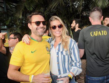 Vitória do Brasil foi comemorada em grande estilo na  Arena Placar Uol