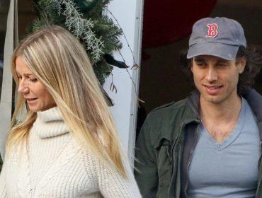 Gwyneth Paltrow e Brad Falchuk curtem férias em Capri a bordo de iate de estilista famoso