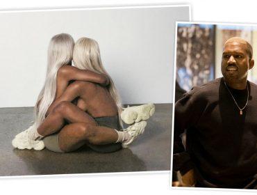 Nova campanha da Yeezy, a marca de Kanye West, tem sósias de Kim Kardashian nuas