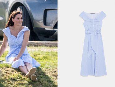 Ela continua poderosa! Kate Middleton usa vestido de R$ 198 e peça esgota em poucas horas