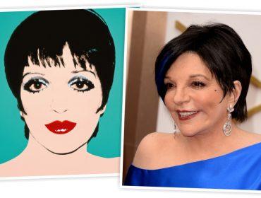 Liza Minnelli vende um dos retratos que ganhou de Andy Warhol por mais de R$ 26 milhões
